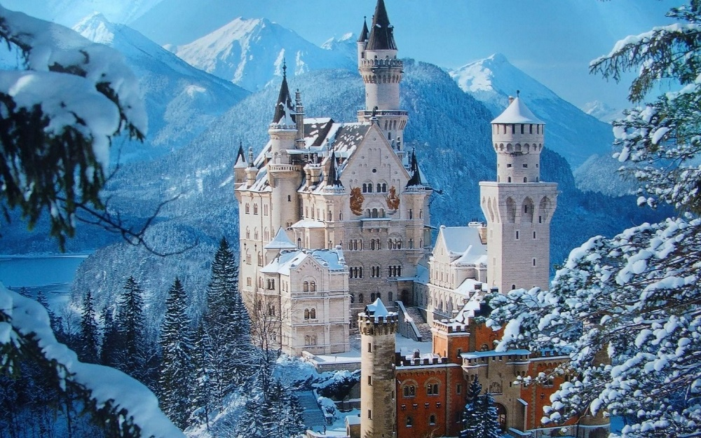 Neuschwanstein Castle, Germany - Most beautiful Castle in the world
